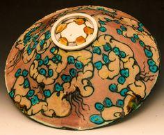 Terrain Bowl, Underside by George Pearlman | GeorgePearlman.com