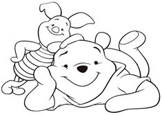 baby pooh coloring pages page 2 - disney winnie the pooh