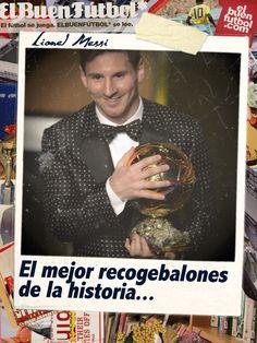 Lionel Messi: 4 Balones de Oro