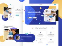 Lesscash landing page designed by Sulton hand. Connect with them on Dribbble; the global community for designers and creative professionals. Landing Page Examples, Landing Page Design, Website Layout, Web Layout, Website Ideas, Web Design Tips, App Design, Flat Design, Email Design
