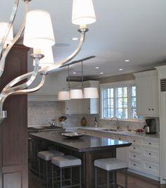 A beautiful white traditional kitchen.  www.changedesigngroup.net