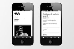 Picture of 7 designed by Non-Format for the project nyMusikk. Published on the Visual Journal in date 22 November 2013