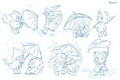 Drawing Reference Poses, Drawing Skills, Chibi Body, Chibi Sketch, Drawing Expressions, Poses References, Art Poses, Drawing Base, Drawing Challenge