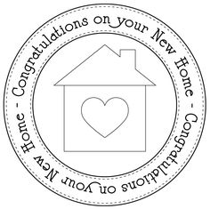 new home circle digi  (and her site is full of SVG files!