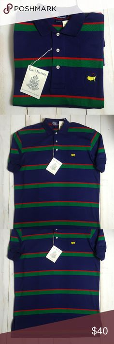 """Polo Ralph Lauren Masters Gold Shirt Medium NWT Condition: New with tags  Size: Medium  Chest: 25""""  Sleeve: Short Sleeve  Length: 30""""  ~  All items are inspected for flaws and are stated as such in the listing. Pre-owned items are washed and are guaranteed pet/smoke-free.  Customer satisfaction is very important, so if you ever have an issue with your order, please feel free to message me and I will be happy to assist you.  If your item does not fit or you are not satisfied, you may return…"""