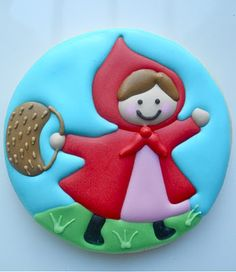 Little Red Riding Hood Cookies