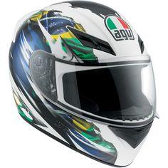 AGV K3 Helmet Brazil Flag