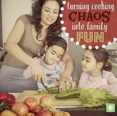 At the beginning of my mothering journey, my attitude was that the kids needed to stay out of the kitchen so cooking would be easier. Since then, I have learned not only the value of cooking with kids but also several strategies that make it easier when pint-sized chefs participate.