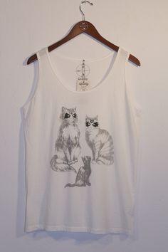 kitties tank - warpaint clothing co