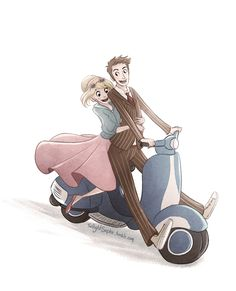 Rose and the Doctor by TwilightSaphir.deviantart.com on @deviantART