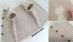 Crochet Socks, Crochet Baby, Baby Knitting Patterns, Hand Knitting, Knitted Baby Clothes, Muslim Dress, Couture, Tote Bag, Straw Bag