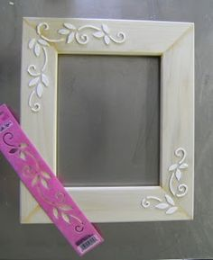 Gesso Picture Frame DIY   poshhome.info
