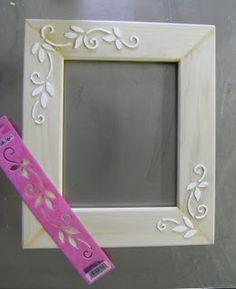 Gesso Picture Frame DIY | poshhome.info