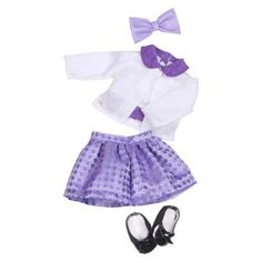 Our Generation Deluxe Retro Outfit Two-riffic Twin Set