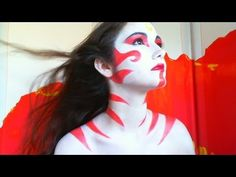 PAINTED LADY AVATAR LAST AIRBENDER MAKEUP - YouTube