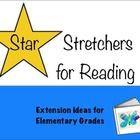 """Star Story Stretchers for Reading ~   Elementary Enrichment Activities  Designed for """"Early Finishers"""" - TpT $"""