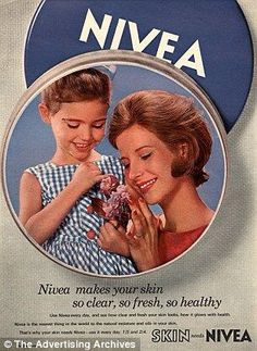 Nivea cream ad