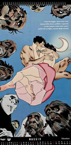Calendario Max 1997.12 Fantastiche Immagini Su Dylan Dog Calendario Max 1997 Nel