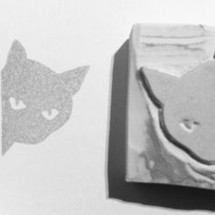 Rubber stamp. Cat.