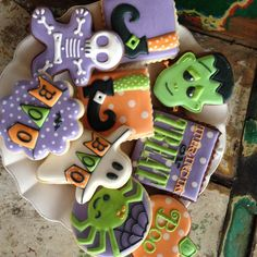 Bambella Cookies ~ Holiday ~ Halloween Cookies
