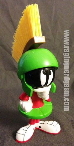 Looney Tunes Marvin the Martian Brush  (4)