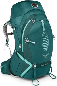 Osprey Aura AG 65 Women's (2015) Internal Frame Backpack - Featuring the revolutionary Anti-Gravity Suspension system!