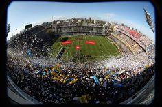 La Bombonera stadium where Boca Juniors play in the neighborhood of La Boca - Buenos Aires, Argentina