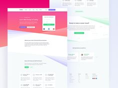 Learning Landing Page Exploration