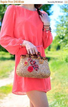 Sale Cocktail Bag Bohemian style Bag Exclusive Bag Crochet Bag Romantic style bag Gold Bag Bridal Bag Modern Bag Wife summer bag Queen style by GelveHandKnitting on Etsy