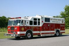 West Hanover Township, PA Fire Company Rescue 36-1 - 1997 Seagrave/Swab Heavy Rescue Squad.