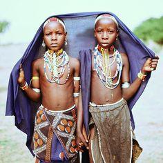 children from Omo Valley