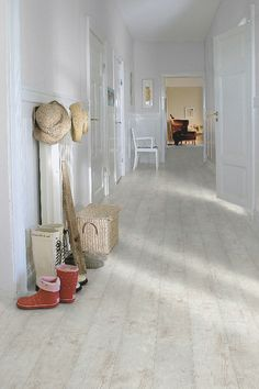 Pergo Accolade Bleached Pine- Special Run per sq.ft, sq ft/box, no underlayment attached. Plank length x White Laminate Flooring, Best Laminate, Wood Laminate, Hardwood Floors, Plank Flooring, Hardwood Types, Hallway Flooring, Engineered Hardwood, Stone Flooring
