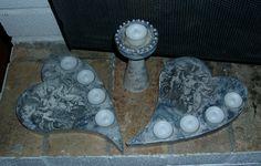 Tuikkutelineitä betonista
