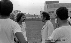 Encontro de mitos: Sicupira e Jackson Nascimento. Clube Atlético Paranaense