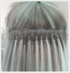 "Hair Extensions micro loop, micro ring, micro bead, `100 strands bleach blonde 50 grams 20"", 62.00 text order: 323-515-2021"