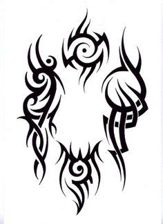 Modelo de tatuagem.