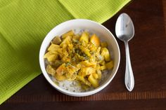 Apple Coconut Curry