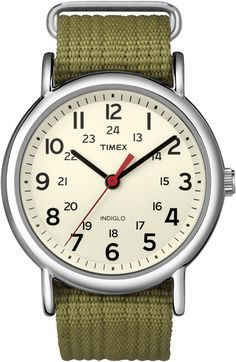 Timex Weekender with White Dial Mens Watch | NZ Watch Store