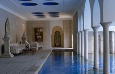 Moroccan indoor pool ... I wish I could have it