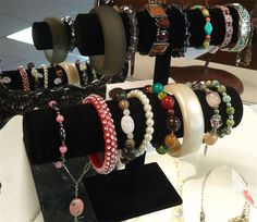 Bangles & Bracelets.  Ms. Mulligan's Consignment Boutique
