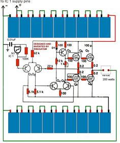 3 Best Transformerless Inverters with Circuit Diagrams - Homemade Circuit Projects Hobby Electronics, Electronics Components, Electronics Projects, Electronic Circuit Design, Speaker Plans, Power Supply Circuit, Solar Inverter, Electronic Schematics, Power Generator
