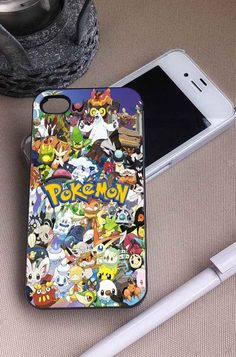 Pokemon Characters | pikachu | iPhone 4 4S 5 5S 5C 6 6+ Case | Samsung Galaxy S3 S4 S5 Cover | HTC Cases