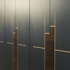 40 Ideas For Bedroom Wardrobe Handles Hardware Wardrobe Door Designs, Wardrobe Design Bedroom, Bedroom Furniture Design, Closet Designs, Closet Bedroom, Wardrobe Laminate Design, Mirror Bedroom, Gold Bedroom, Kitchen Furniture