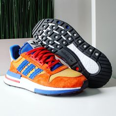 Go check out my Dragon Ball Z x adidas ZX 500 RM