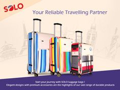 Your Reliable Travelling Partner #Luggage #Travel