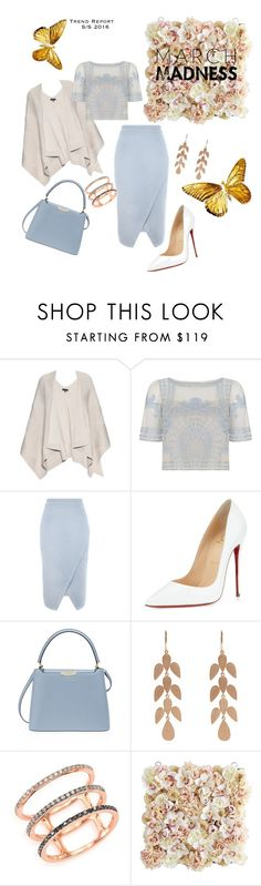 """March"" by dubenko-kristina ❤ liked on Polyvore featuring rag & bone, Temperley London, Christian Louboutin, Henri Bendel, Irene Neuwirth, EF Collection and Pier 1 Imports"