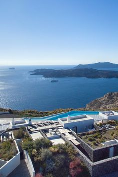 The 7 Best Hotels in Santorini - With its romantic caldera views and cliffside hotels, it's no wonder why Santorini remains one of the most sought-after tourist destinations in the world. Here, the 7 best spots to bed down between beach visits.