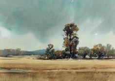 Arie Jekel | Po Valley | Watercolor