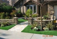Yard Landscaped with SYNLawn (29) Our synthetic turf and artificial grass is engineered for use in landscaping turf. Learn more and get a free consultation from SYNLawn® San Diego.
