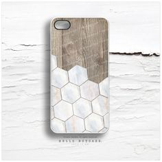 iPhone 6 Case Wood Marble Print iPhone 5C Case by HelloNutcase